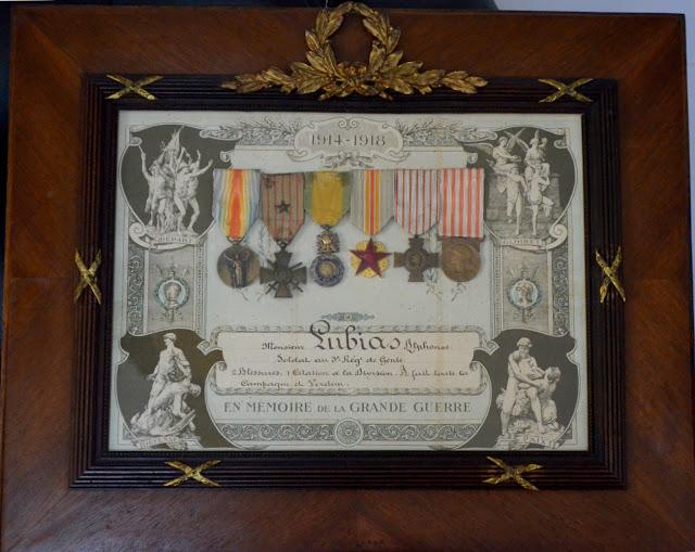 Cadre diplôme commémoratif de la guerre 14-18