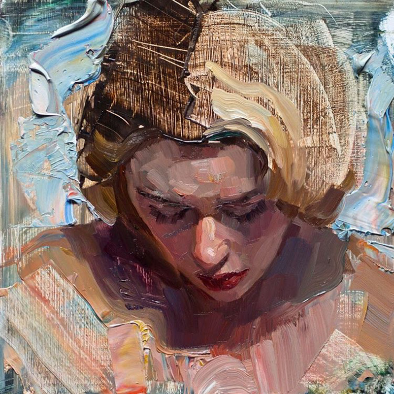 Beautiful Portraits in Paintings by Matt Talbert from Los Angeles.