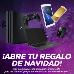 vivelasuerte consigue PS4 Pro portatil Smartphone participa  18-22 diciembre