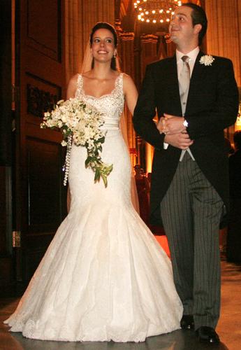 Vestido noiva estilo sereia, Liana Moraes