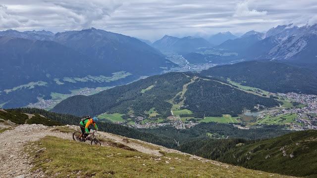 Bikestrecke Nördlinger Hütte