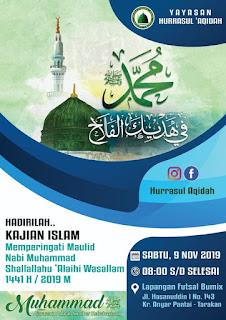 Hadirilah Kajian Islam Memperingati Maulid Nabi Muhammad Shallallahu Alaihi Wassalam 1441H - Kajian Islam Tarakan