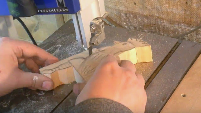 scrap wood chicken