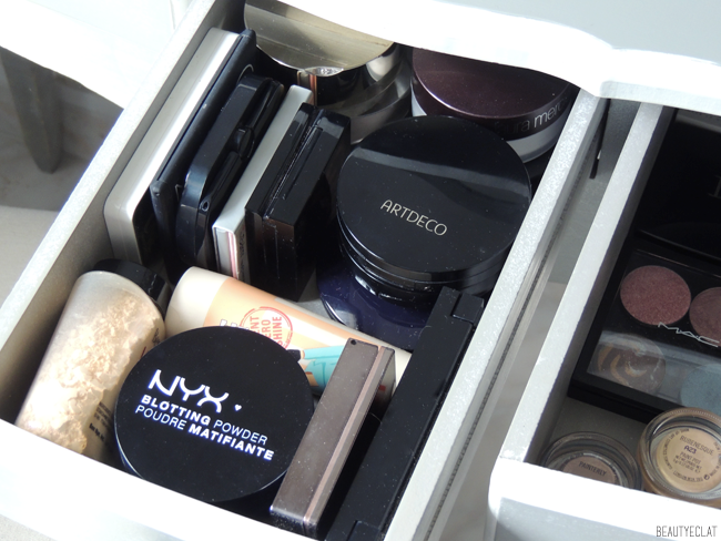 rangement maquillage makeup storage blogueuse beaute blog