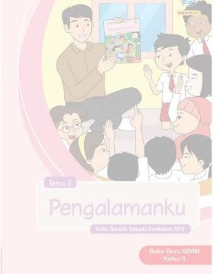 buku tematik guru kelas 2 semester 2