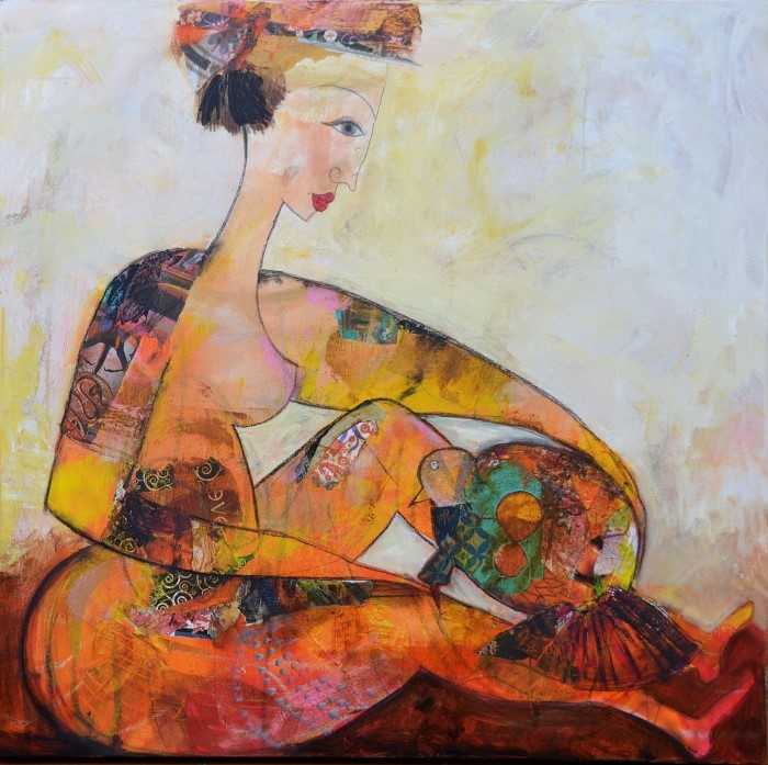 Алжирский художник.