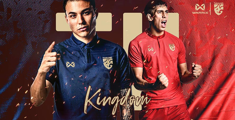 Thailand 2020 Home & Away Kits Released - Footy Headlines