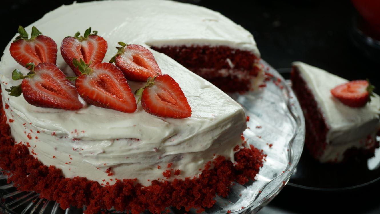 Cake Recipes In Madras Samayal: Red Velvet Cake Recipe