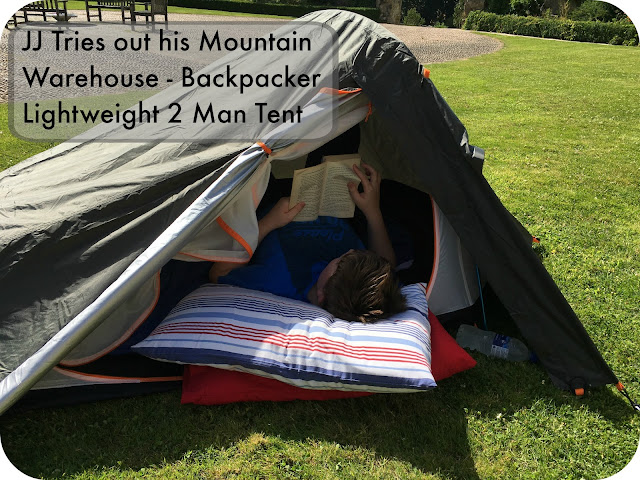 Review Mountain Warehouse Backpacker Lightweight 2 Man Tent & Mummy From The Heart: Review: Mountain Warehouse Backpacker ...