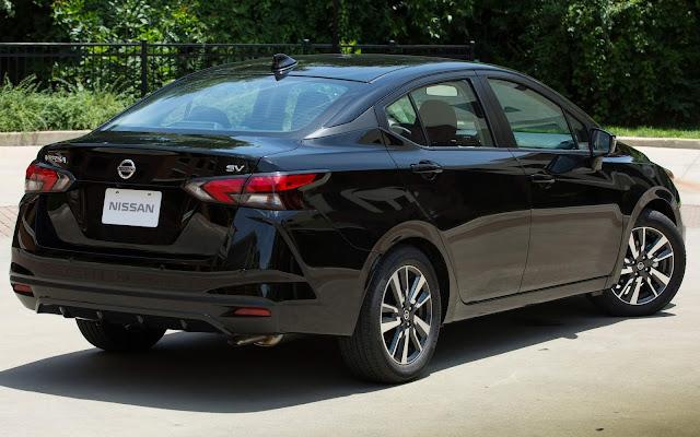 Novo Nissan Versa 2020