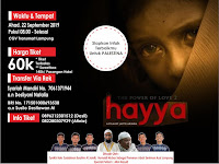 Limited Seat Ticket NOBAR FILM Hayya (The Power Of Love 2)