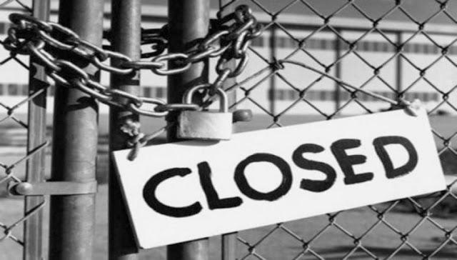 Κλείνουν μια - μια οι επιχειρήσεις στην Κρήτη!