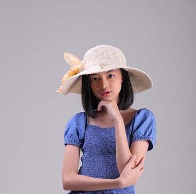 Montserrat Gizelle pemeran Bulan Dari Jendela SMP