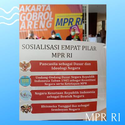 MPR RI, Sekjend MPR, 4 pilar RI
