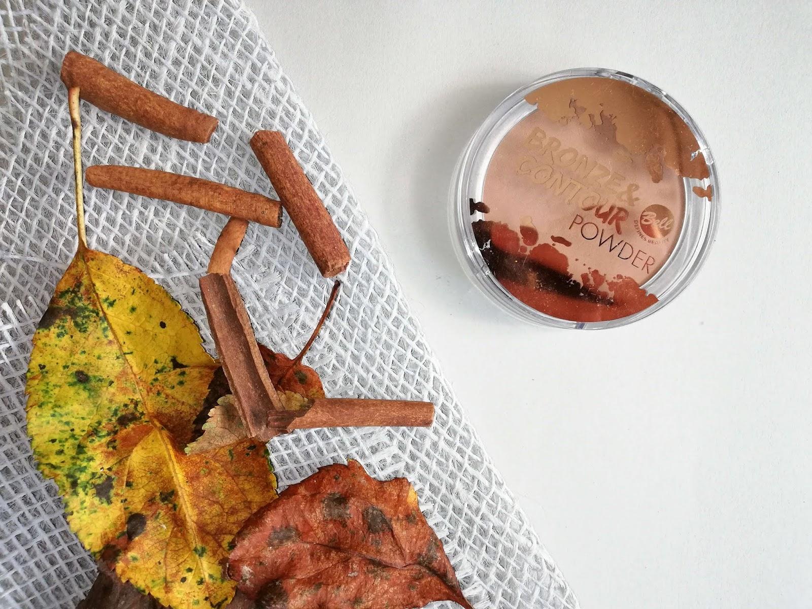Cynamonowy bronzer Bell bronze&contour powder