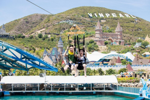 Longest zipline come to operation in Nha Trang