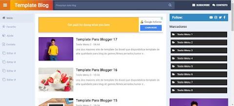 Template Site Blogger
