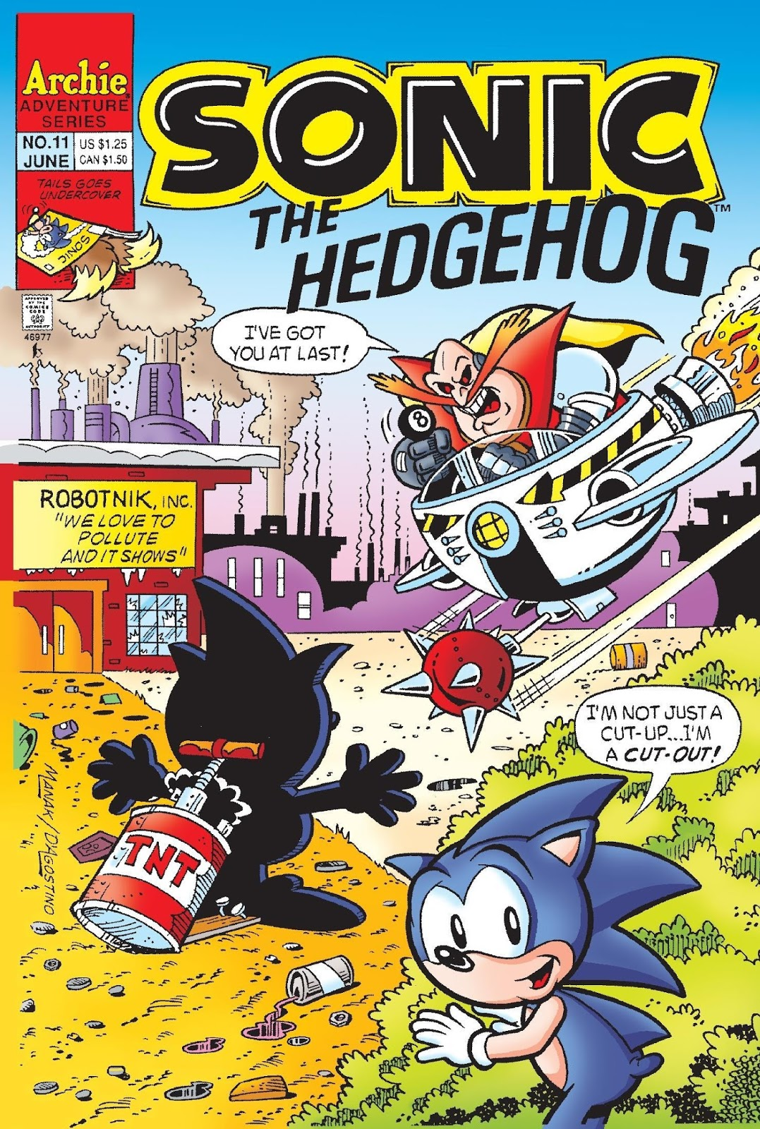 Hedgehogs Can T Swim Sonic The Hedgehog Issue 11