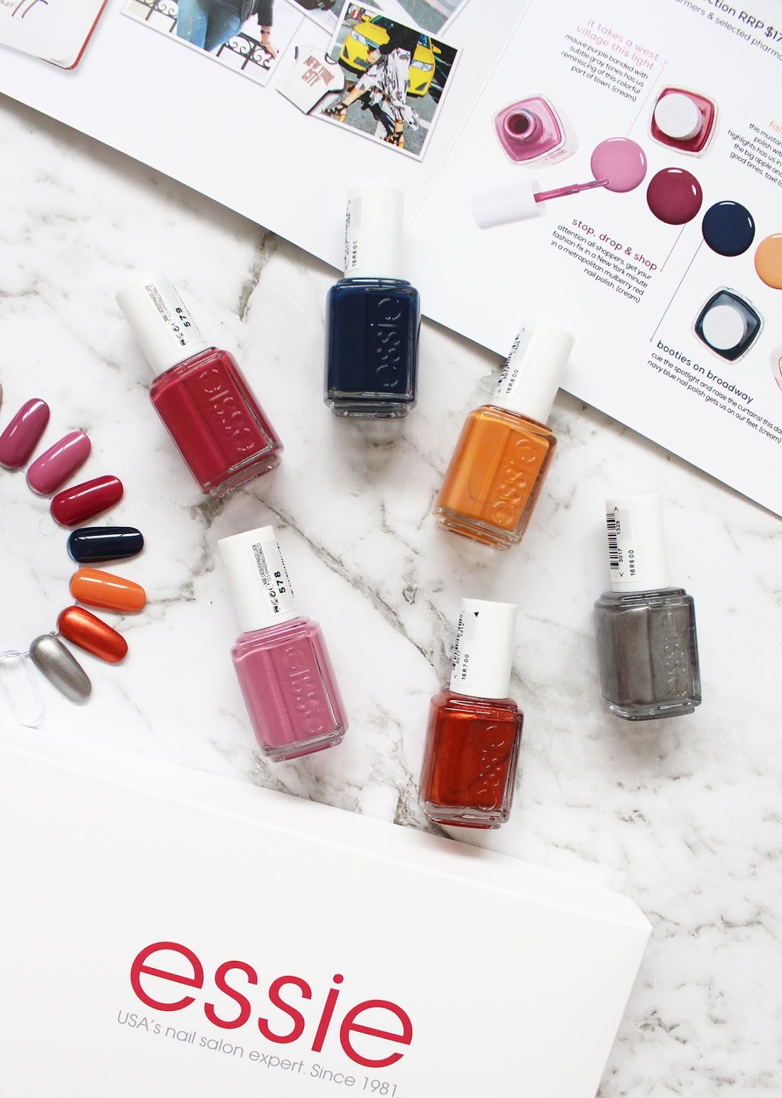 ESSIE | Fall 2018 - New York Collection - CassandraMyee