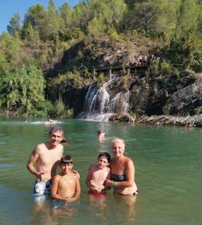 El área recreativa de Molino Bota de Fanzara, provincia de Castellón.