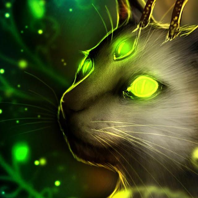 Fantasy Cat Wallpaper Engine