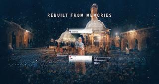 REBUILT FROM MEMORIES    Instagram Bilder ermöglichen den Blick in ein kollektives Gedächtnis per Fotogrammetrie