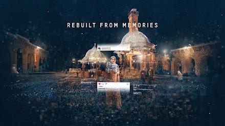REBUILT FROM MEMORIES  | Instagram Bilder ermöglichen den Blick in ein kollektives Gedächtnis per Fotogrammetrie