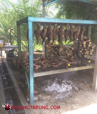 Daging Salai Nasi Bamboo