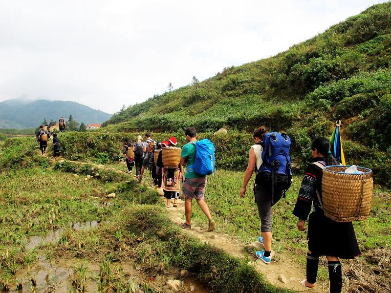 Trekking en Sapa (Vietnam)