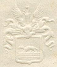Briefwappen Wesendonck auf Brief vom 07.05.1856 (Zürich)