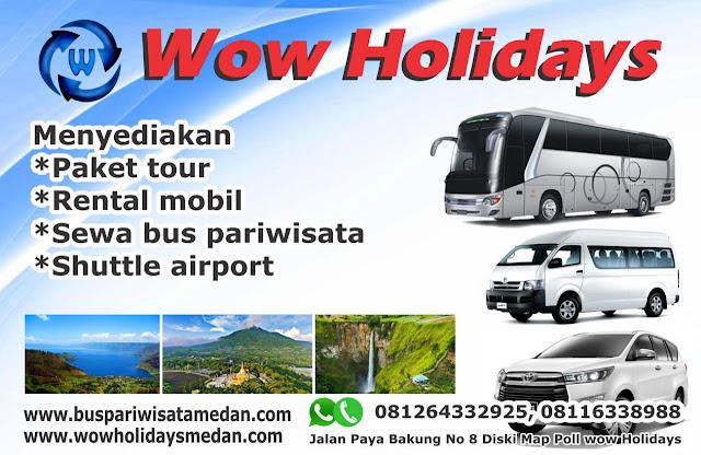 Sewa bus dan Rental Mobil Medan