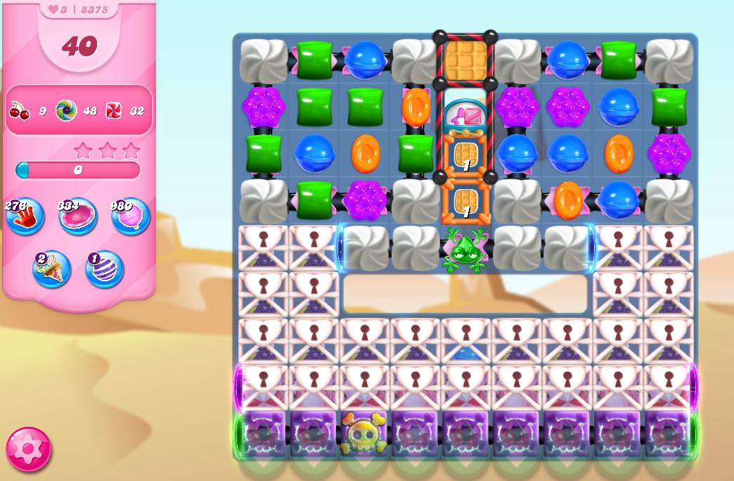 Candy Crush Saga level 8375