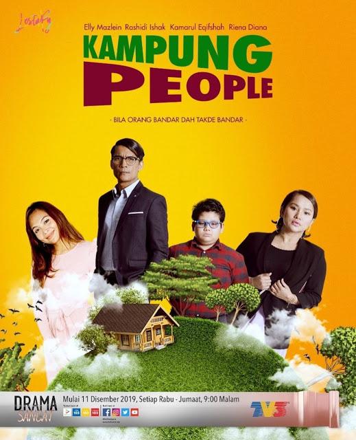 Drama Slot Lestary - Kampung People Full Episode