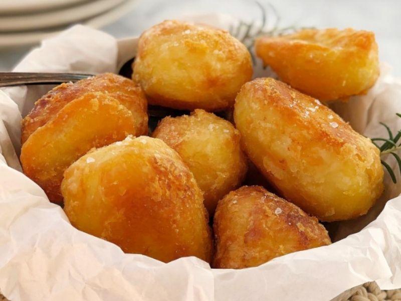 Extra Crispy Potatoes