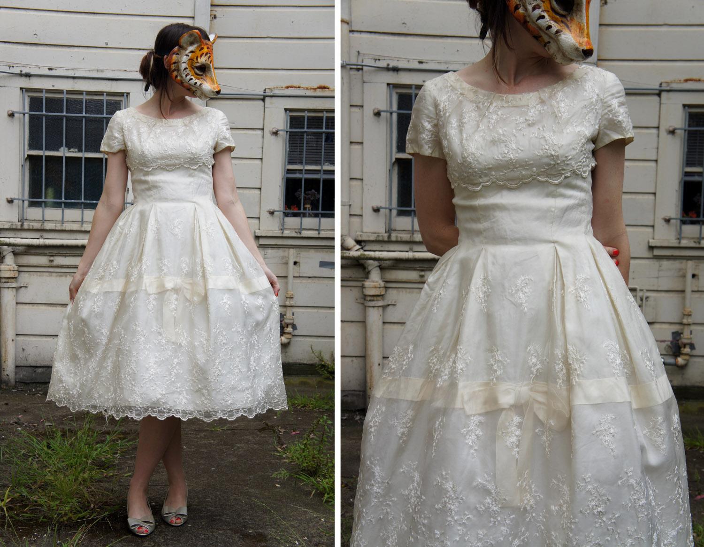 Animal Head Vintage Vintage Wedding Dresses