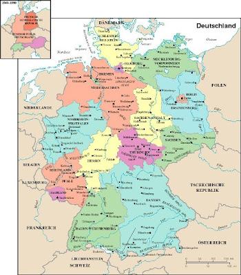 Karte Von Deutschland Stadt Regionalen Politisch Aachen Landkarte