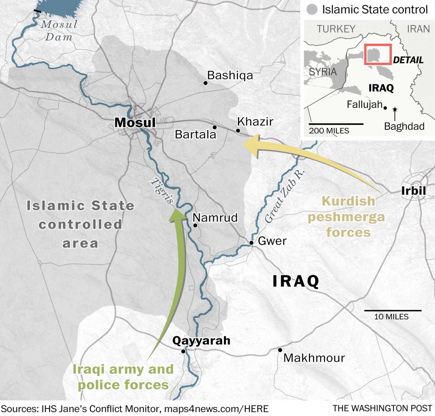 MUSINGS ON IRAQ: Mosul Campaign Day One, Oct 17, 2016