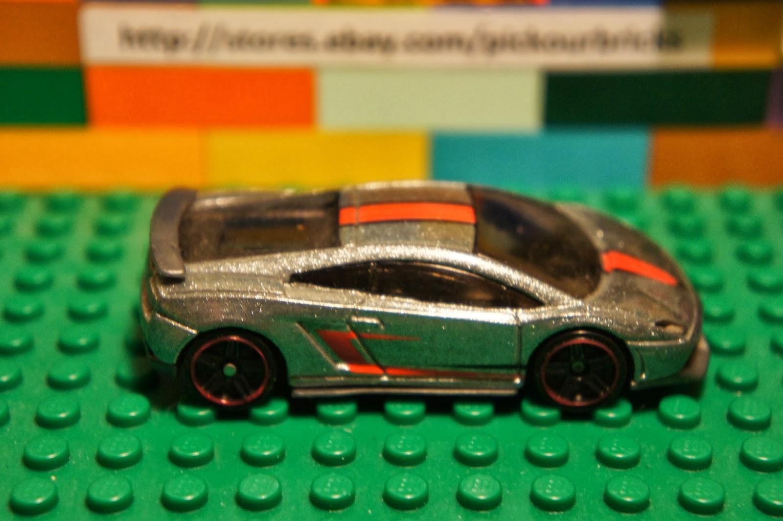 Hot Wheels Lamborghini Gallardo LP 570 4 Superleggera Diecast Car HW City Series