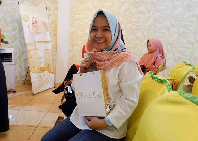 Gathering Blogger Bengkulu x Alea, Sparkling Your Beauty