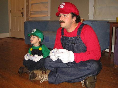 Disfraz de Mario Bros y Luigi- Cosplay