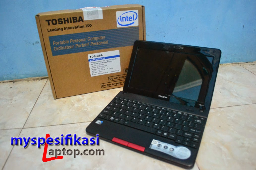Laptop Toshiba NB510