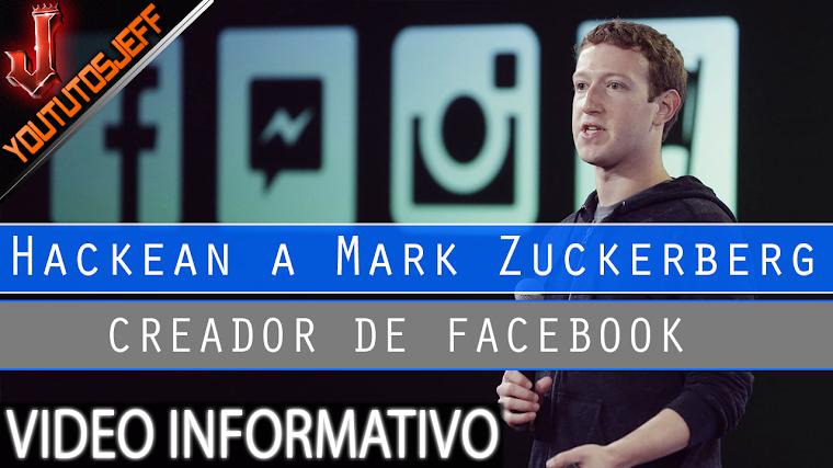 Hackean a Mark Zuckerberg creador de FACEBOOK | 2016