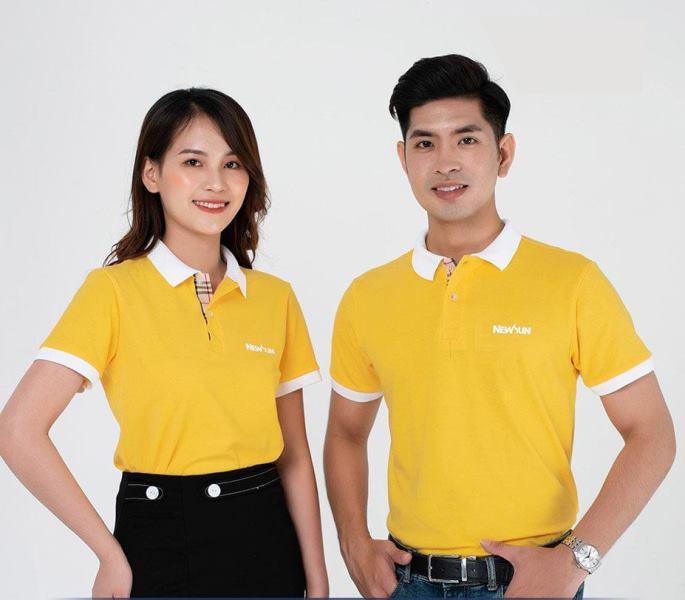 Mẫu áo thun đồng phục công ty NewSun
