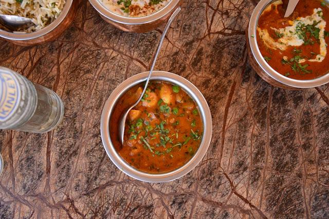 Cuisine indienne à Jodhpur