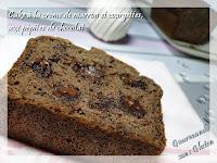 recette de cake à la crème de marron et courgette sans gluten