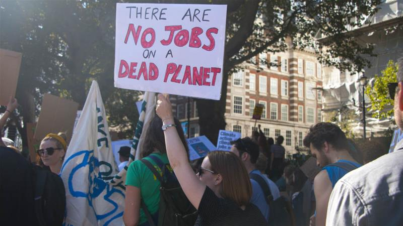 Climate strike: Almost 100,000 Londoners stage protests