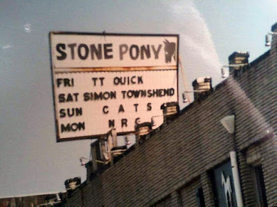 The Stone Pony in Asbury Park, New Jersey right on the water