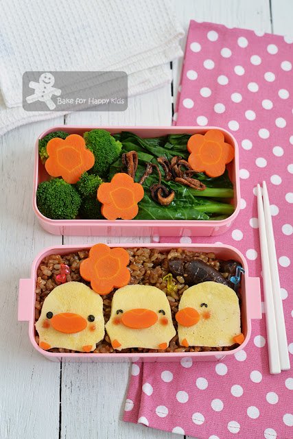 piyo piyo chicken claypot rice bento