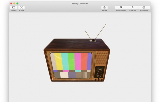 Apple Introducing Reality Converter