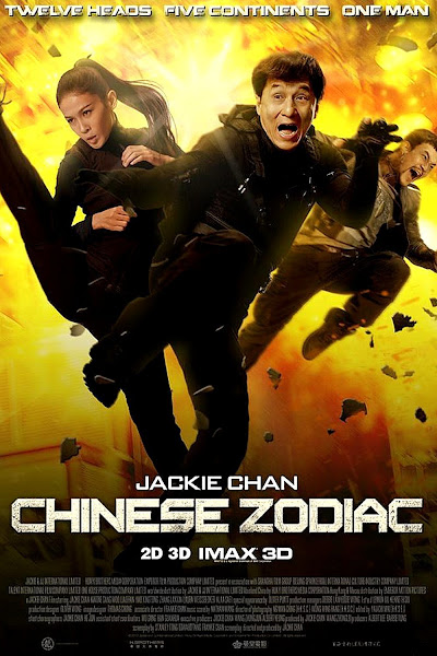 Poster of Chinese Zodiac 2012 720p BRRip Hindi Dubbed Full Movie Download